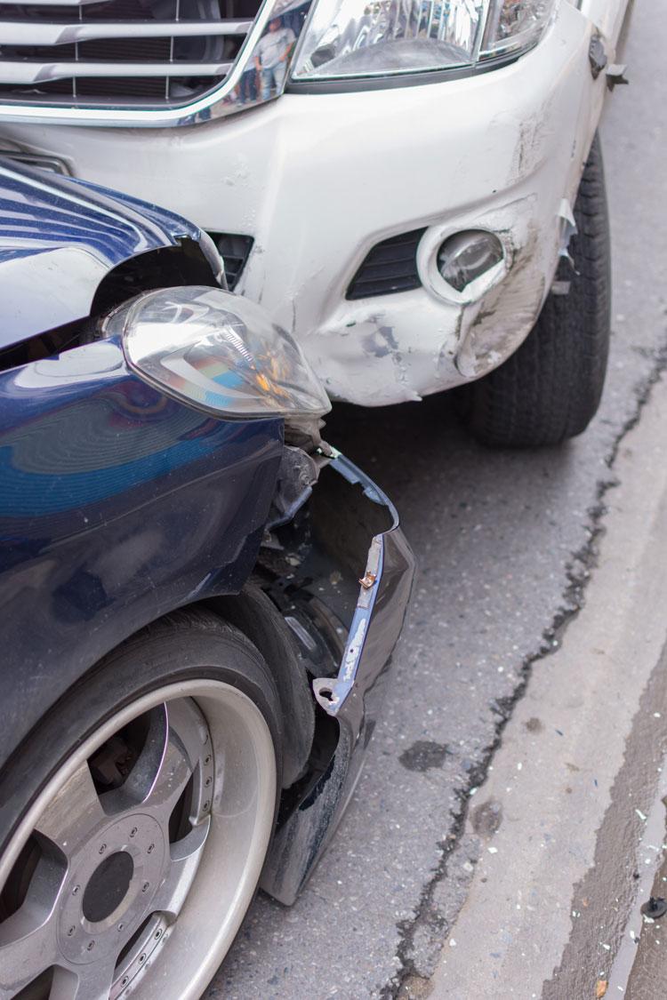 auto accident damage